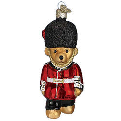 Palace Guard Teddy Christmas Ornament
