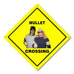 Custom Photo Crossing Sign
