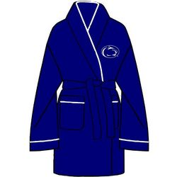 Ladies Penn State Solid Cozy Robe