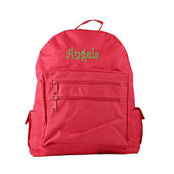 Personalized Pink Children's Backpack