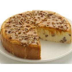 """9"""" Praline Cheesecake"""