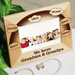 Personalized Love of Family Picture Frame