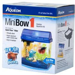 Mini Bow 1 Gallon Aquarium Starter Kit