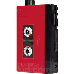 Drinkman Retro Cassette Player Flask