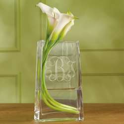 Monogrammed Vase for Bridesmaids