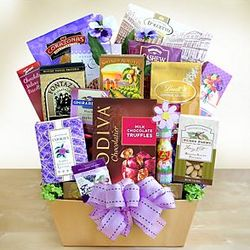 Mom's Gourmet Goodies Gift Basket