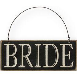 Bride or Groom Wooden Sign