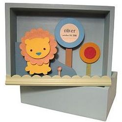Personalized Children's Shadow Box