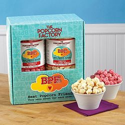 Strawberry and Vanilla Cream Popcorn Gift Box