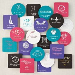 Pack of 100 Personalized Coasters