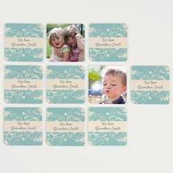 Grandma's Game Time Personalized Photo Memory Game