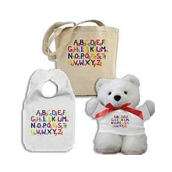 ABCs Baby Shower Gift Set
