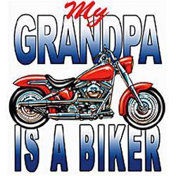 Grandpa's a Biker T-Shirt