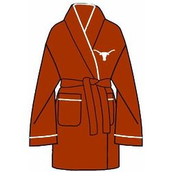 Ladies University of Texas Solid Cozy Robe