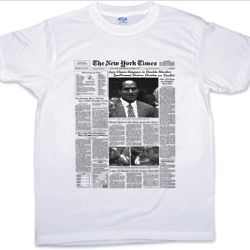Personalized New York Times Tee Shirt