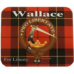 Personalized Scottish Family Crest Mouse Pad