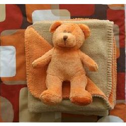Teddy Bear and Blanket Set