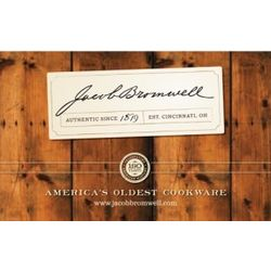 Jacob Bromwell Gift Card