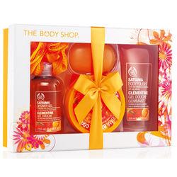 Satsuma Shower, Scrub and Soften Luxury Gift Set