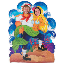 Under the Sea Couple's Photo Stand-Up