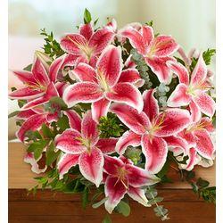 Stunning Pink Lilies Bouquet