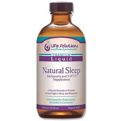 Natural Sleep Liquid with Melatonin and 5-HTP