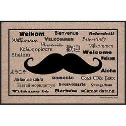 Welcome Moustache Doormat