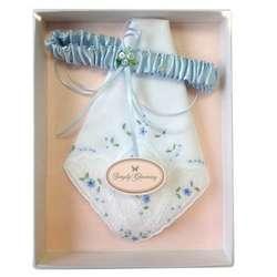 Wedding Garter and Handkerchief Set