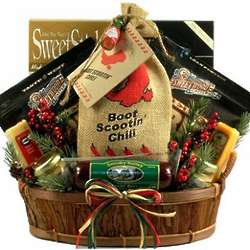 Boot Scootin' Snack Basket for Him