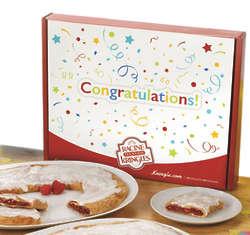 Racine Danish Kringles in Congratulations Gift Box