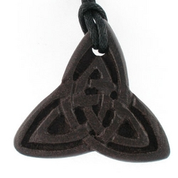 Irish Peat Trinity Pendant