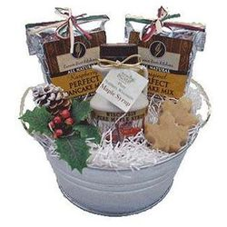 Simply Maple Christmas Gift Bucket