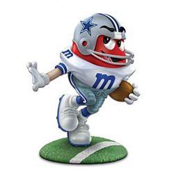 Dallas Cowboys M Amp M S Figurine Findgift Com