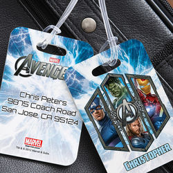 Avengers Personalized Luggage Tags