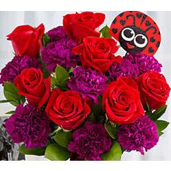 Love Bug Flower Bouquet