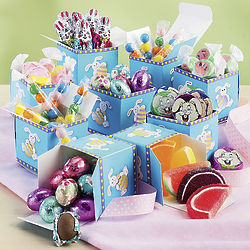 Fifteen Easter Candy Boxes