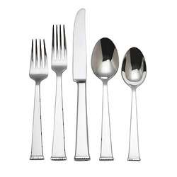 Classic Braid 65 Piece Flatware Set