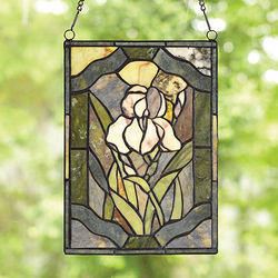 Jade Suncatcher Panel