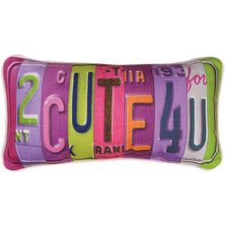 2 Cute 4 You Pillow