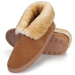 Gentlemen's Australian Sheepskin Indoor and Outdoor Booties