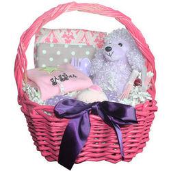 Giggles Baby Girl Gift Basket