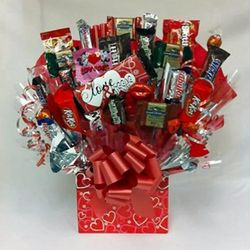 Love and Kisses Candy Bouquet