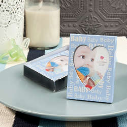 Baby Boy Heart Picture Frame