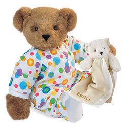 Pajama Bear with Bear Buddy Blanket