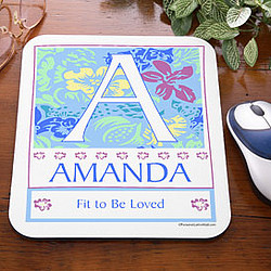 Name Meaning Personalized Mouse Pad