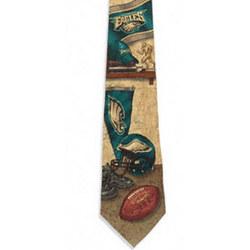Philadelphia Eagles Nostalgia 2 Silk Tie