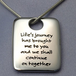 Life's Journey with You Pendant