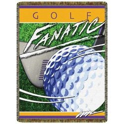 Fanatic Golf Tapestry Throw