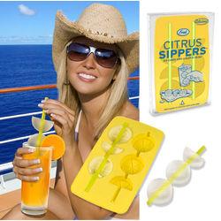 Citrus Stirrers Ice Cube Tray