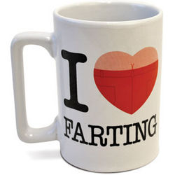 I Love Farting Sound Effects Mug